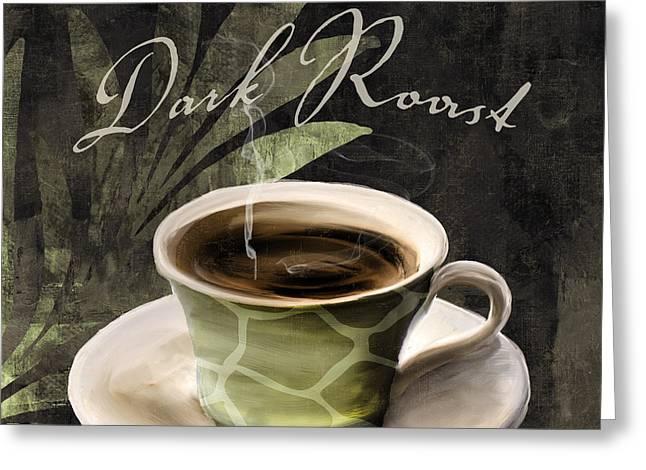 Afrikan Coffees Iv Greeting Card