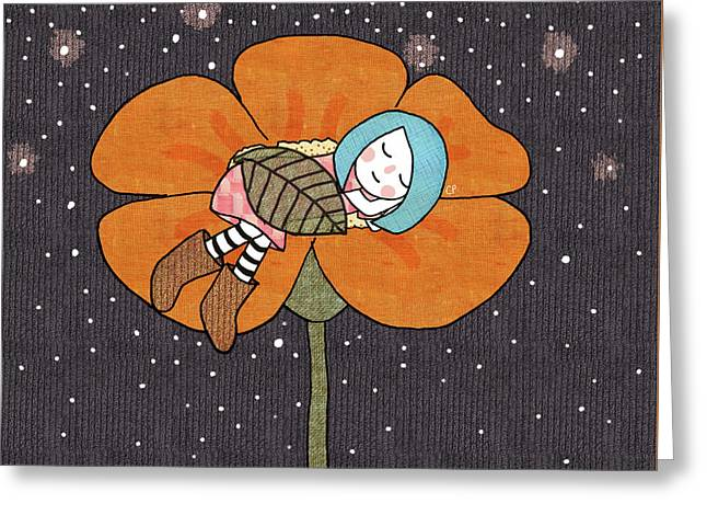 After A Long Day Greeting Card by Carolina Parada