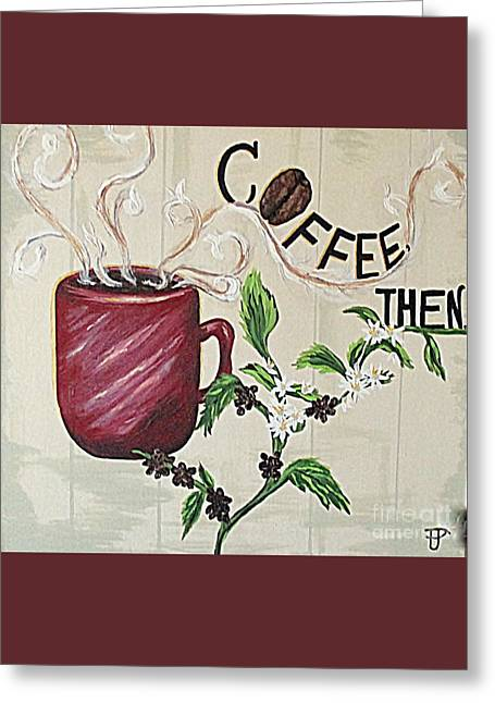 After Coffee Greeting Card