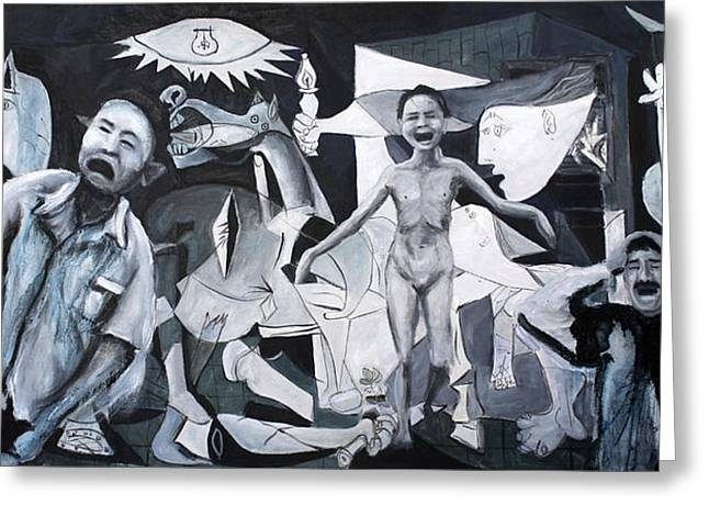 After Guernica Greeting Card by Michelle Barone