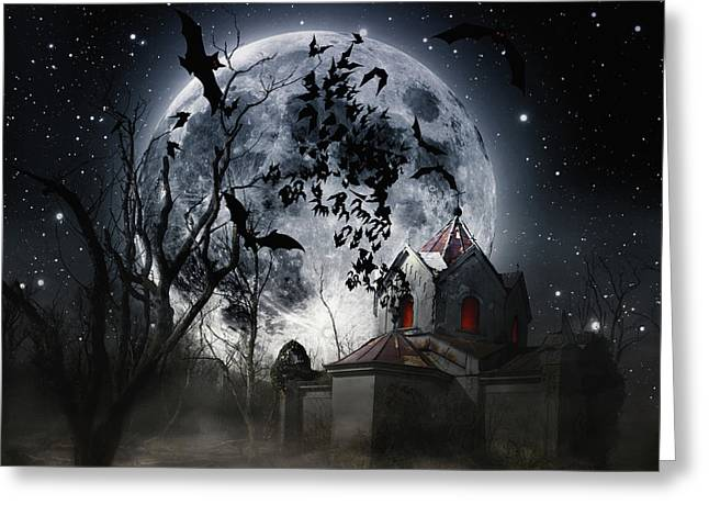 After Moonrise Greeting Card