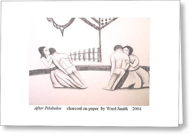 After Pilobolus Greeting Card by Ward Smith
