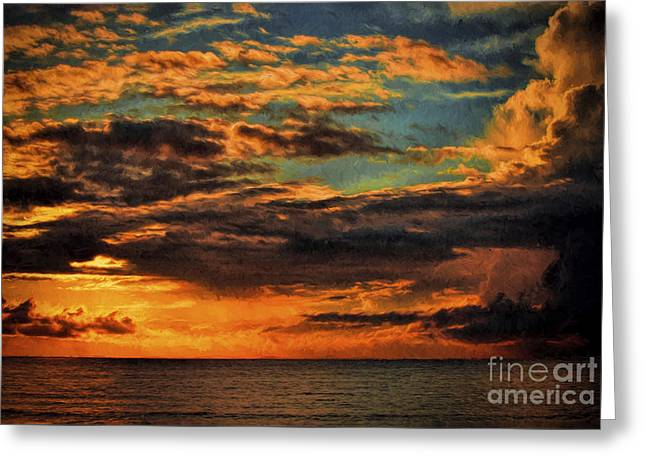 After Sunrise Greeting Card by Dave Bosse