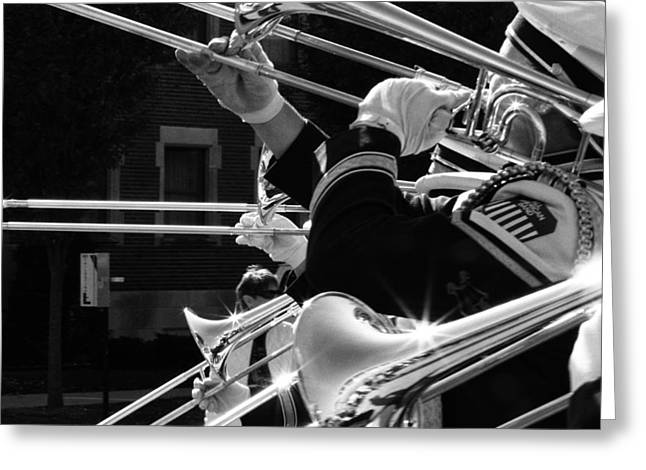 Marching Band Greeting Cards - After the Game Greeting Card by Coby Cooper