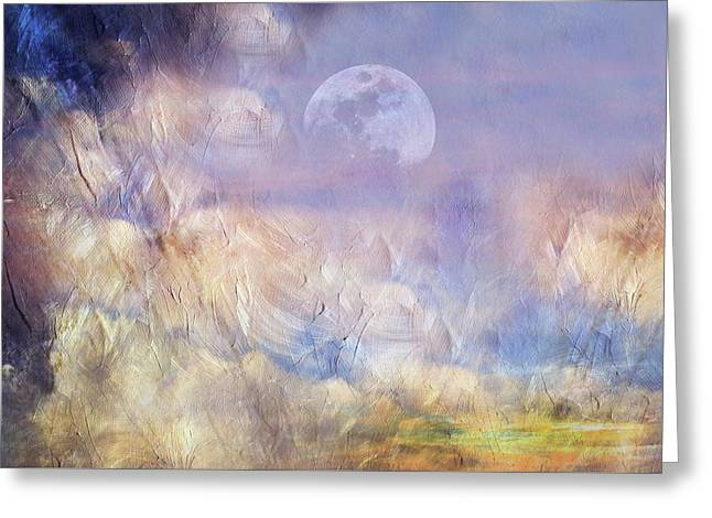 After The Storm Abstract Realism Greeting Card