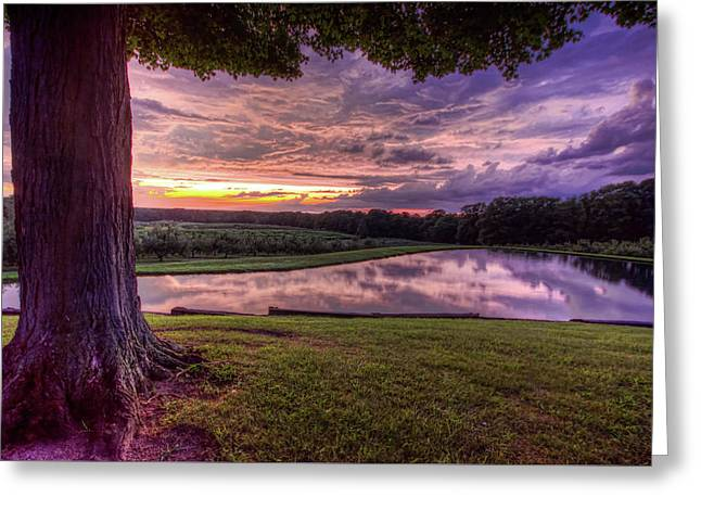 After The Storm At Mapleside Farms Greeting Card
