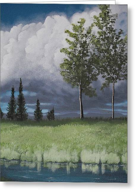 After The Storm Greeting Card by Candace Shockley
