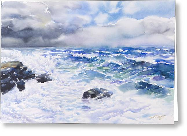 After The Storm Greeting Card by Jack Tzekov