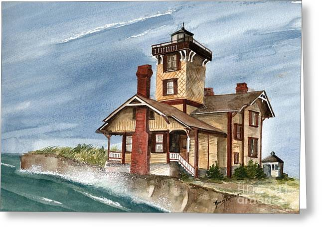 After The Storm Greeting Card by Nancy Patterson