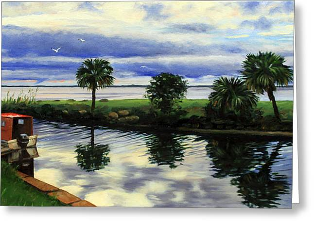 After The Storm Greeting Card by Rick McKinney
