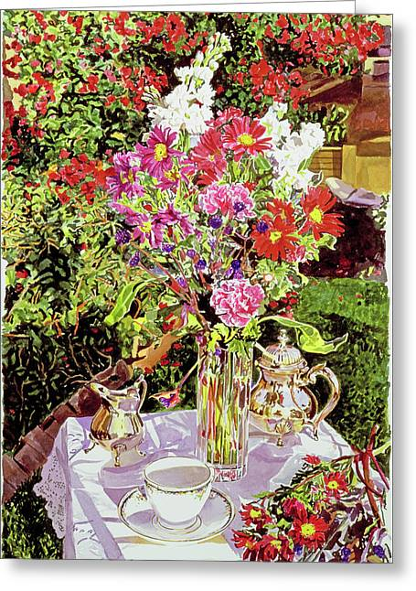 After The Tea Party Greeting Card
