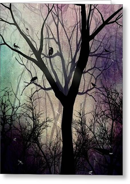 After Twilight Greeting Card by Charlene Zatloukal