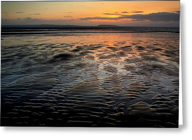 Afterglow At Penmaenmawr Greeting Card