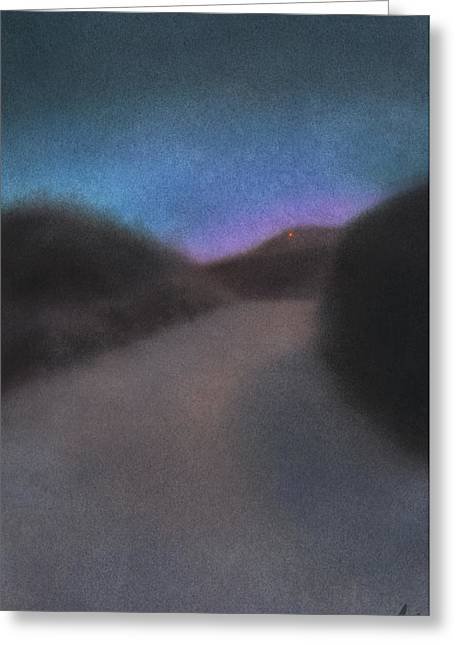 Afterglow Greeting Card by Robin Street-Morris