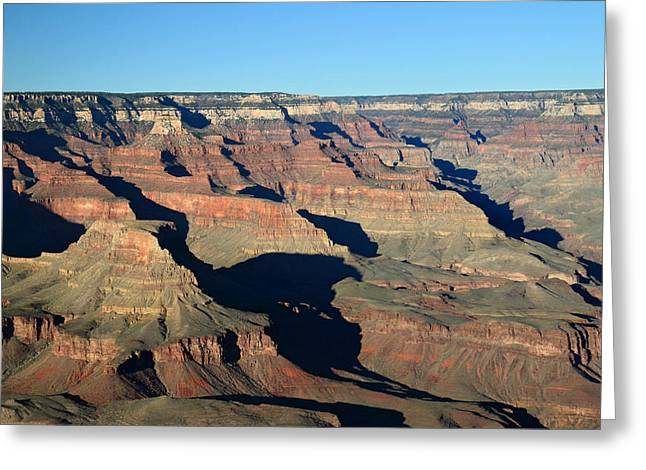 Afternoon In Grand Canyon Greeting Card by Pierre Leclerc Photography