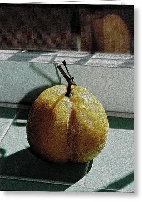 Afternoon Lemon Greeting Card