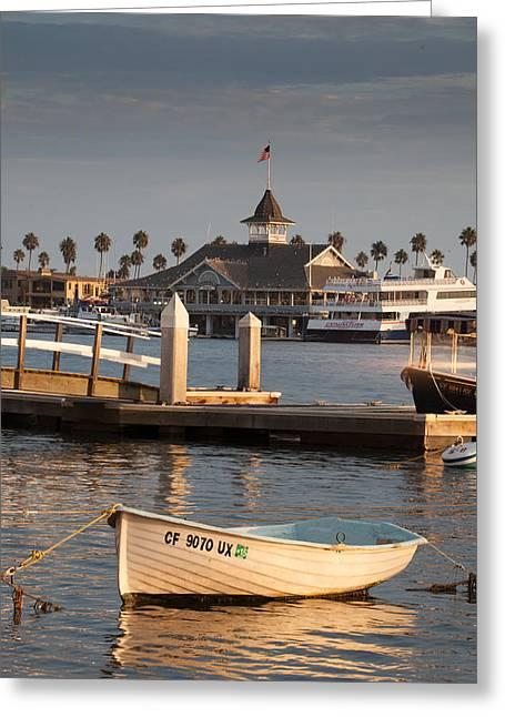 Afternoon Light Balboa Island Greeting Card