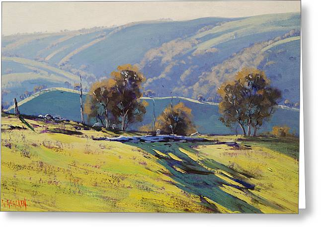 Afternoon Light Lithgow Greeting Card