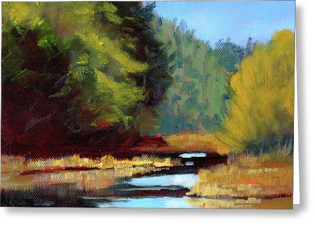 Afternoon On The River Greeting Card