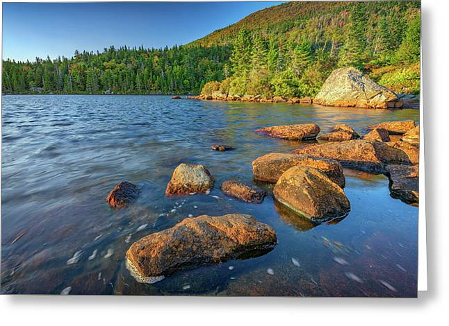 Afternoon On Tumbledown Mountain Greeting Card
