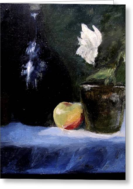 Afternoon Still Life  Greeting Card by Susan Tilley