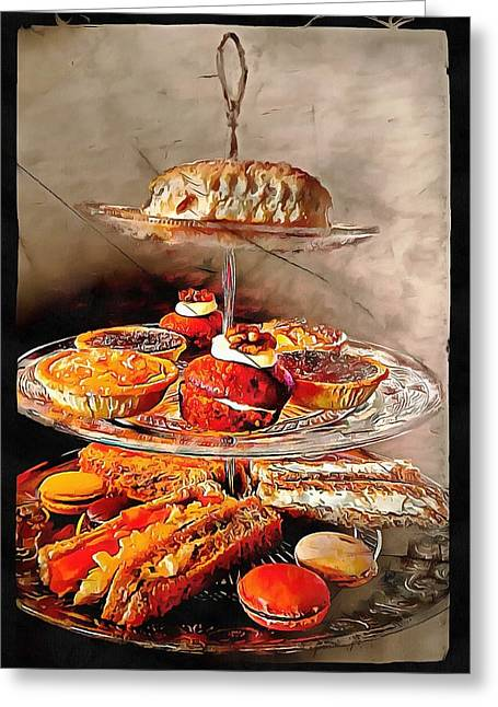 Afternoon Tea Anyone Greeting Card