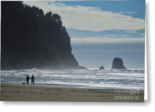 Cape Meares Greeting Card