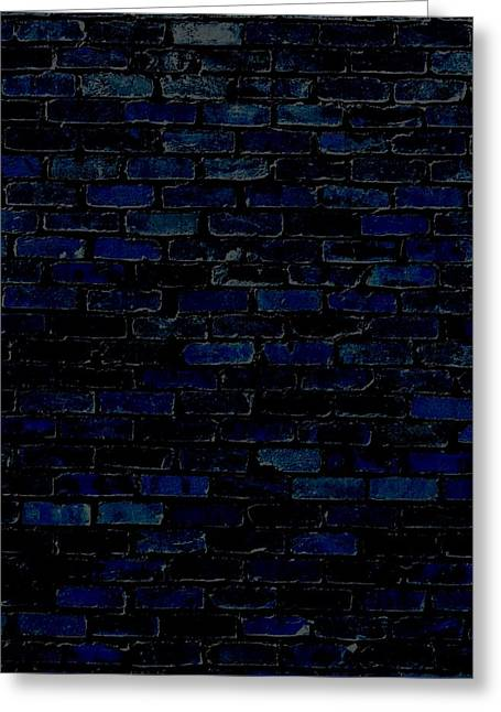 Against A Brick Wall Greeting Card by Chastity Hoff