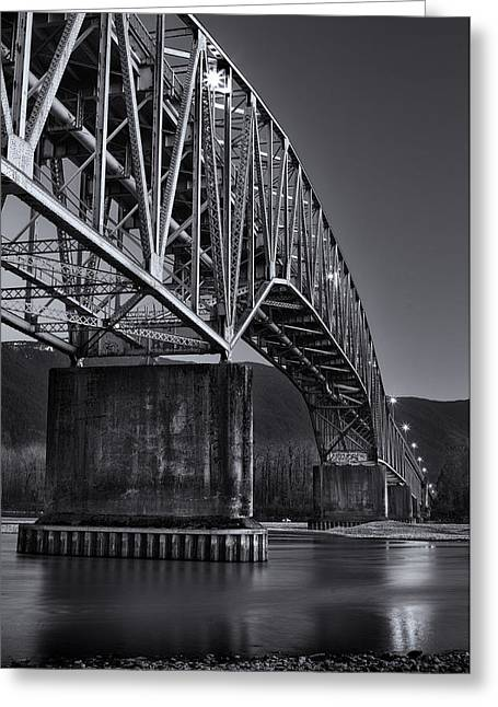 Agassiz-rosedale Bridge Greeting Card