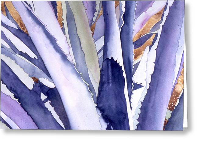 Agave 4 Greeting Card by Eunice Olson