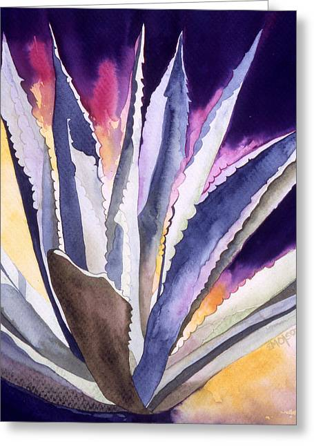 Agave 5 Greeting Card by Eunice Olson