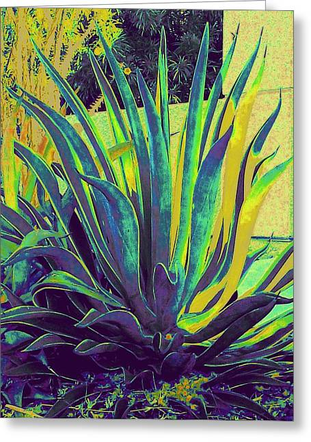 Agave Maria Greeting Card