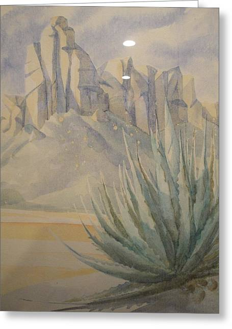 Agave Greeting Card by Steven Holder