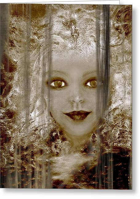 Age Becomes Her V Greeting Card by Patricia Motley