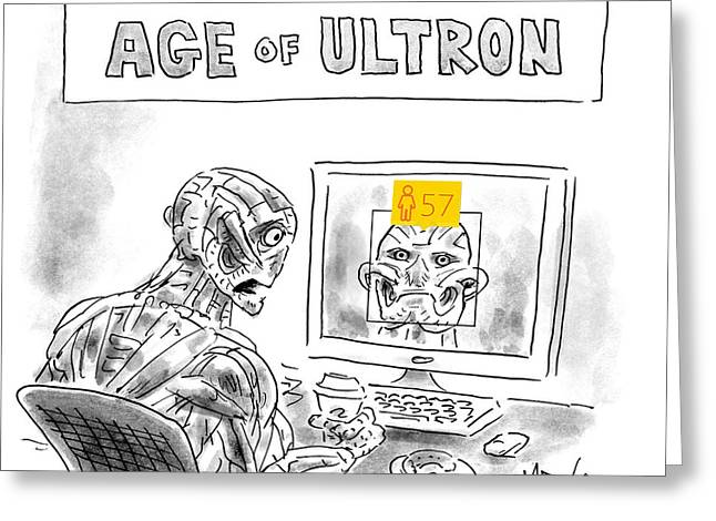 Age Of Ultron Greeting Card