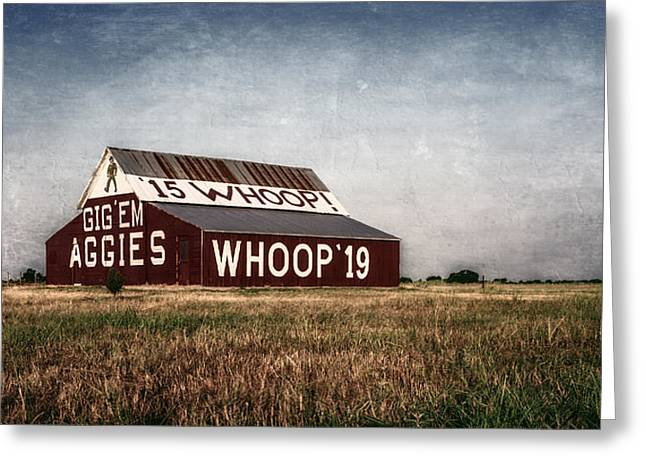 Aggie Barn 2015 II Greeting Card