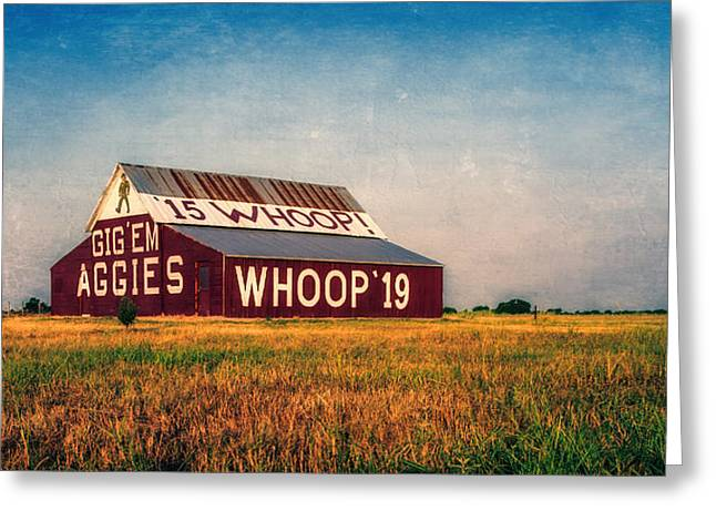 Aggie Barn 2015 Greeting Card
