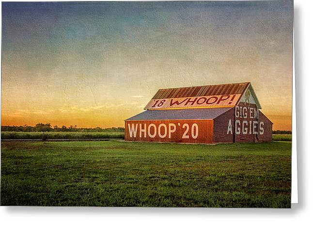 Aggie Barn 2016 Greeting Card