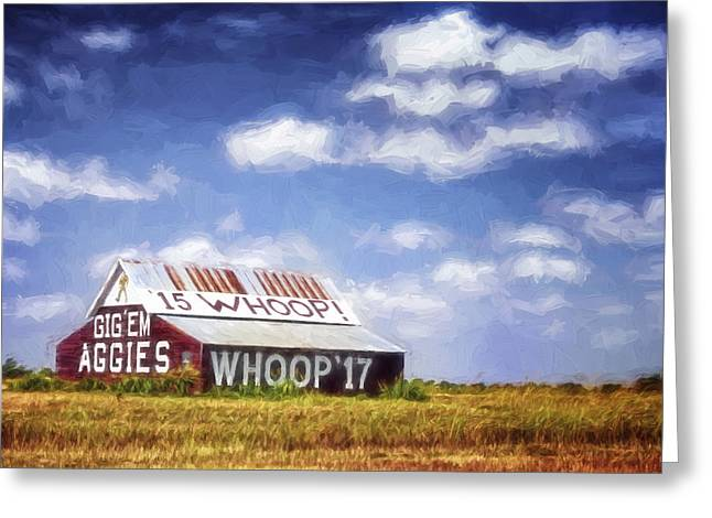 Aggie Barn Iv Greeting Card
