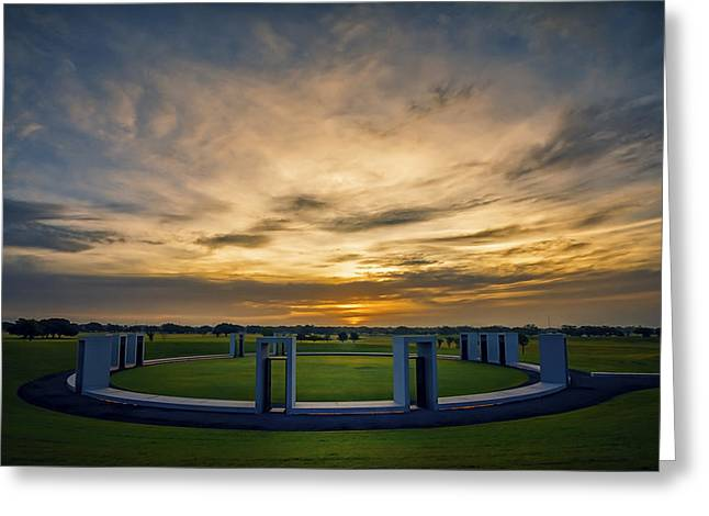 Aggie Bonfire Memorial Greeting Card