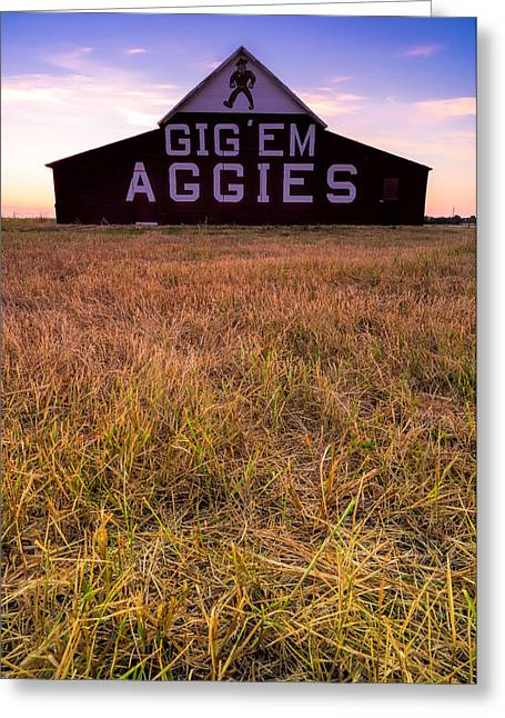 Aggie Land Greeting Card by Jonathan Davison