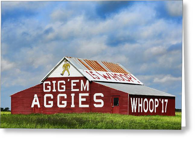 Aggie Nation Barn Greeting Card