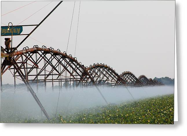 Agriculture - Irrigation 3 Greeting Card