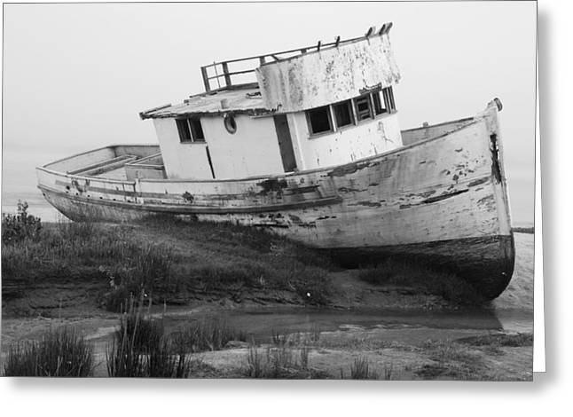 Aground Greeting Card by Eric Foltz
