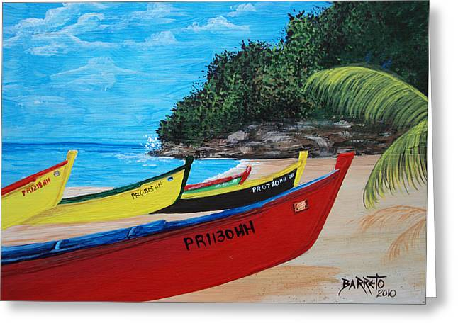 Aguadilla Crashboat Beach Greeting Card