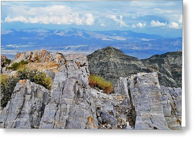 Aguereberry Point Rocks Greeting Card