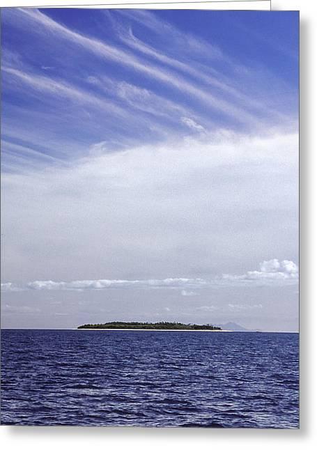 Ahoy Bounty Island Resort Greeting Card