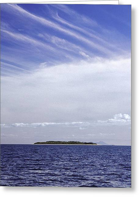 Greeting Card featuring the photograph Ahoy Bounty Island Resort by T Brian Jones