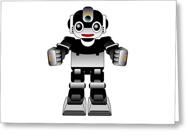 Ai Robot Greeting Card