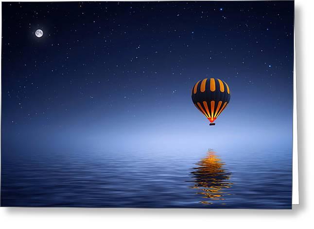 Air Ballon Greeting Card